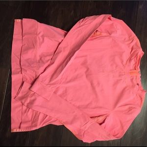 Bright melon pullover from lululemon